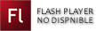 Flash Player no disponible